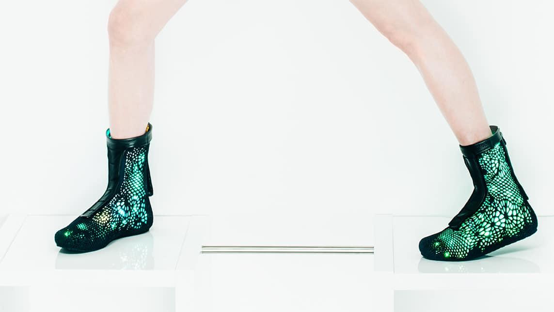 הנעליים שמתאימות עצמן לרגליים. באדיבות: SOLS