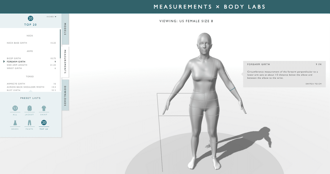 גרסת ביטא של ה- BodyKit, סט שלם של API לווירטואליזציה וסימולציה של גופים אנושיים