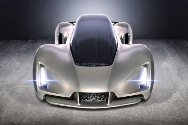 תמונות המכונית: באדיבות Divergent Microfactories הדפסת תלת מימד