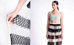 Skirt Photo credit Daria Ratiner הדפסת תלת מימד