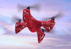 the3dzone-drone1 במדפסת תלת מימד