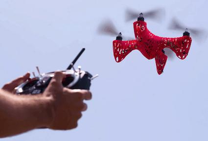 the3dzone-drone2 במדפסת תלת מימד